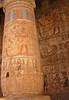 Pillar, Medinat Habu, Luxor