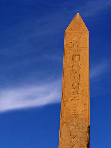 Obelisk of Hatshepsut, Karnak temple, Luxor