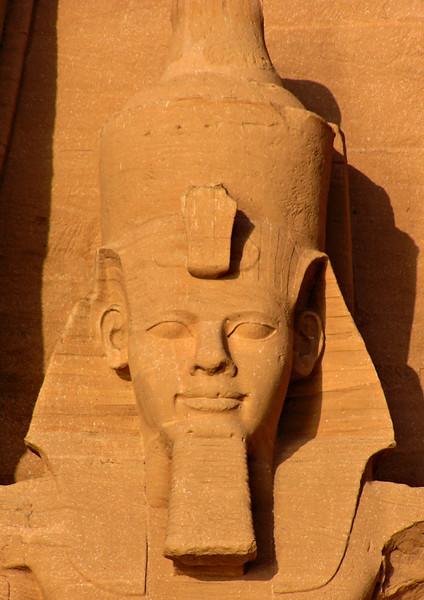Ramses II statue, Abu Simbel