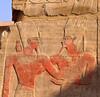 Reliefs, Karnak temple, Luxor