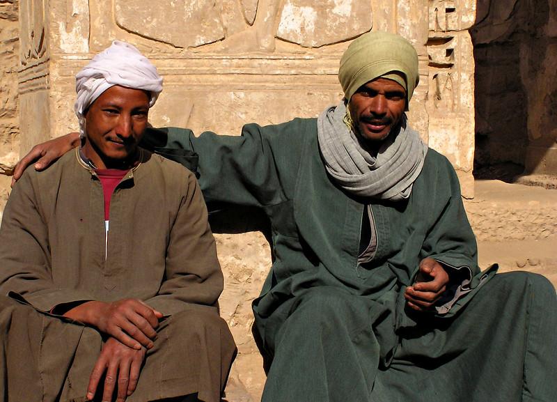 Workers, Medinat Habu, Luxor