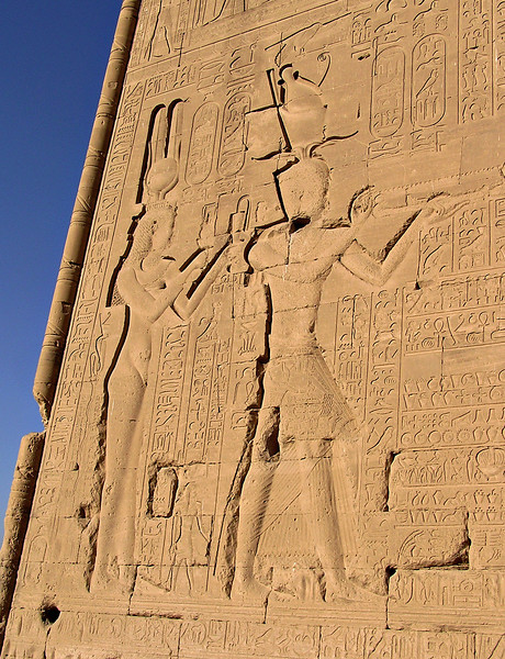 Cleopatra VII image, Hathor temple, Dendera