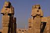 Statues, Karnak temple, Luxor