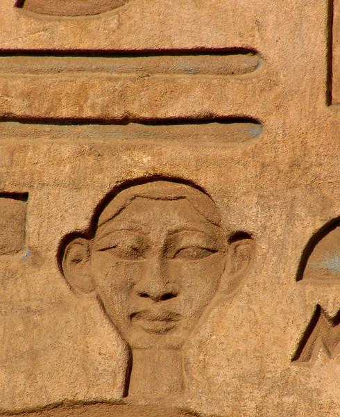 Hieroglyph, Karnak temple, Luxor