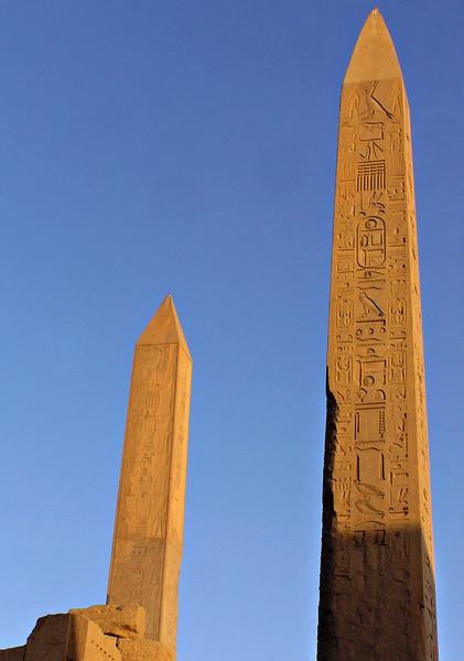 Obelisks, Karnak temple, Luxor