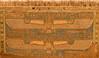 Ceiling detail, Medinat Habu, Luxor