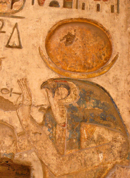 Horus, Medinat Habu, Luxor