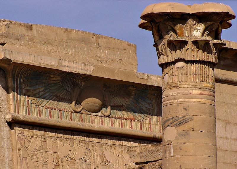 "Pylon, ""small temple,"" Medinat Habu"