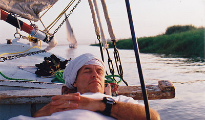 Feluca ride down the Nile