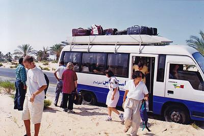 Caravan Cairo to Tel Aviv - Flat Tires