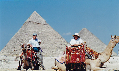 Pyramids outside Cairo