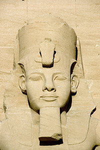 Relief of egyptian pharaoh at Abu Simbel - Egypt