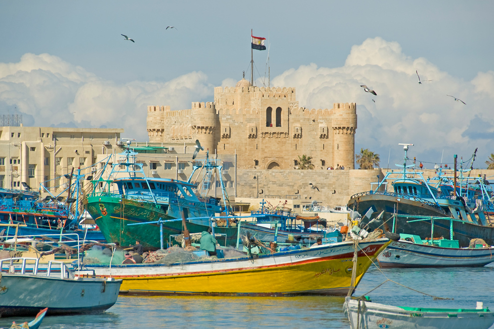 Fort Qaitbay, Alexandria, Egypt