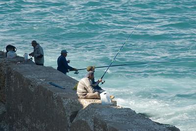 Fishermen at Alexandria, Egypt