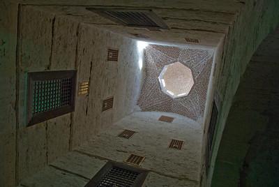 Inside Fort Qataby in Alexandria, Egypt