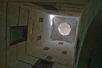 Inside Fort Qataby in Alexandria, Egypt