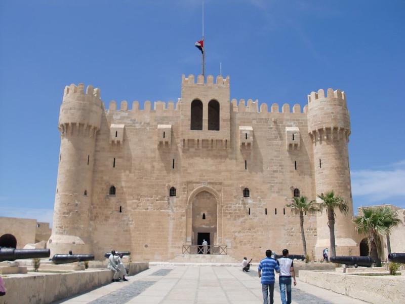 The Citadel of Qaitbay.