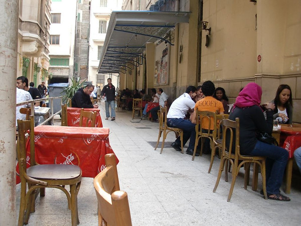 alexandria egypt cafe