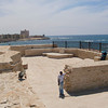 A view of Alexandria, Egypt from the Citadel of Qaitbay.