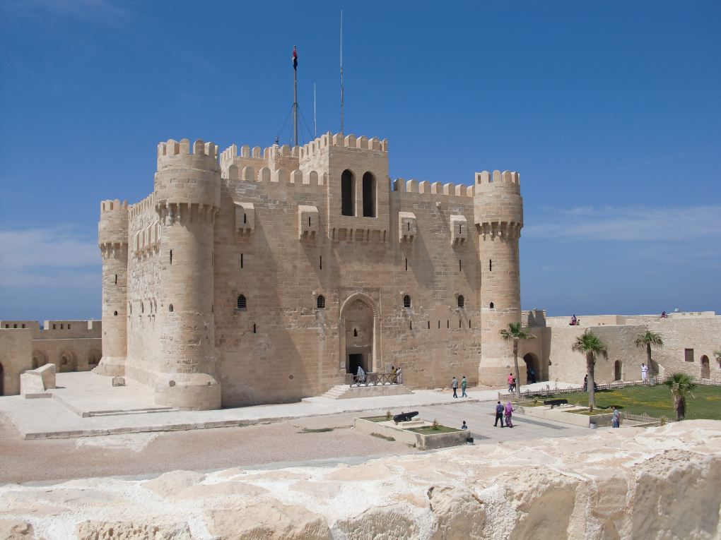 Room With A View: The Citadel Of Qaitbay In Alexandria, Egypt