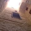 Inside the Citadel of Qaitbay in Alexandria, Egypt.