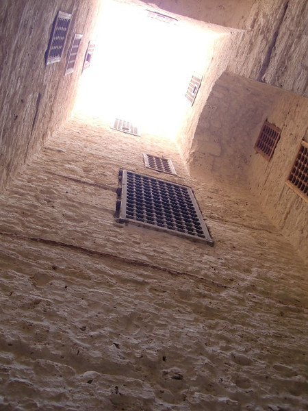 Inside the Citadel of Qaitbay in Alexandria, Egypt.