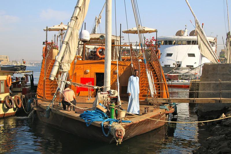 voyage form Nubia village