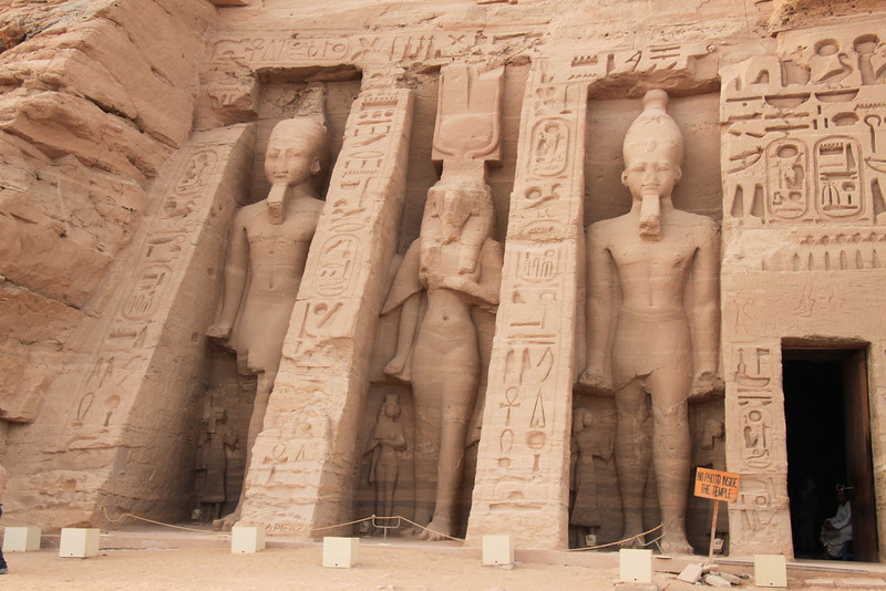 Abu Simbel temple of queen Nefertari