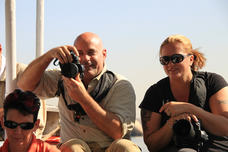 Ralph and Liz at Temple of Isis, Philae