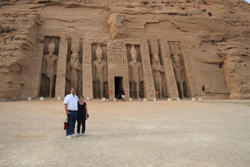 Abu Simbel temple of queen Nefertari