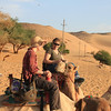 Leslie and Joan - camel ride to Nubian village
