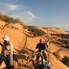 camel ride to Nubian village