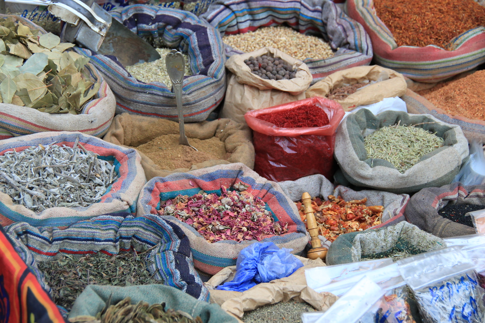 Spices at the Market - Cairo, Egypt