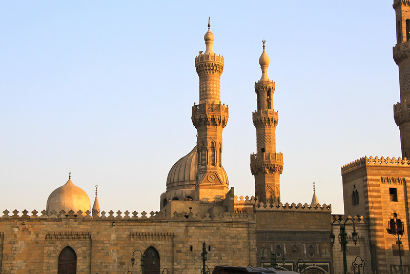 mosque near Cairo market