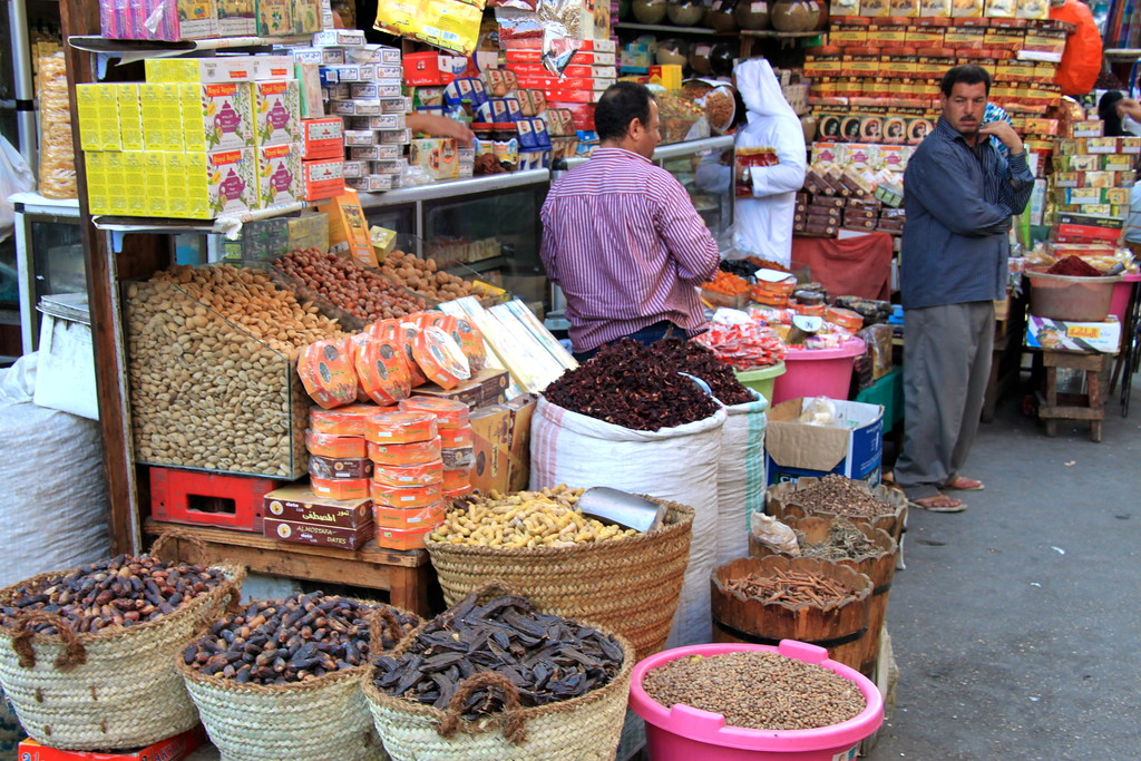Cairo Market Stall - Cairo, Egypt - Photo