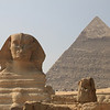Sphinx - guard - Pyramids at Giza