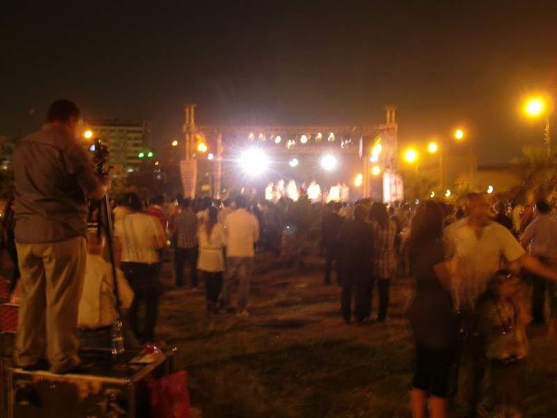 A concert in Cairo.