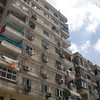 An apartment building in Cairo.