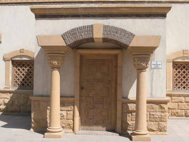 A doorway in Coptic Cairo.