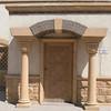 A doorway in Coptic Cairo.