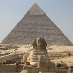 Sphinx and Pyramid – Giza, Egypt – Daily Photo