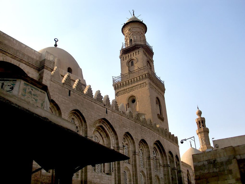 The Madrasah Mosque, part of the Qalawun Complex.