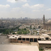 The Cairo skyline.