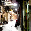 A narrow street in Khan al-Khalili.