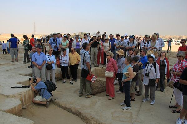 Cosmos Tour Group - Giza Egypt 2010