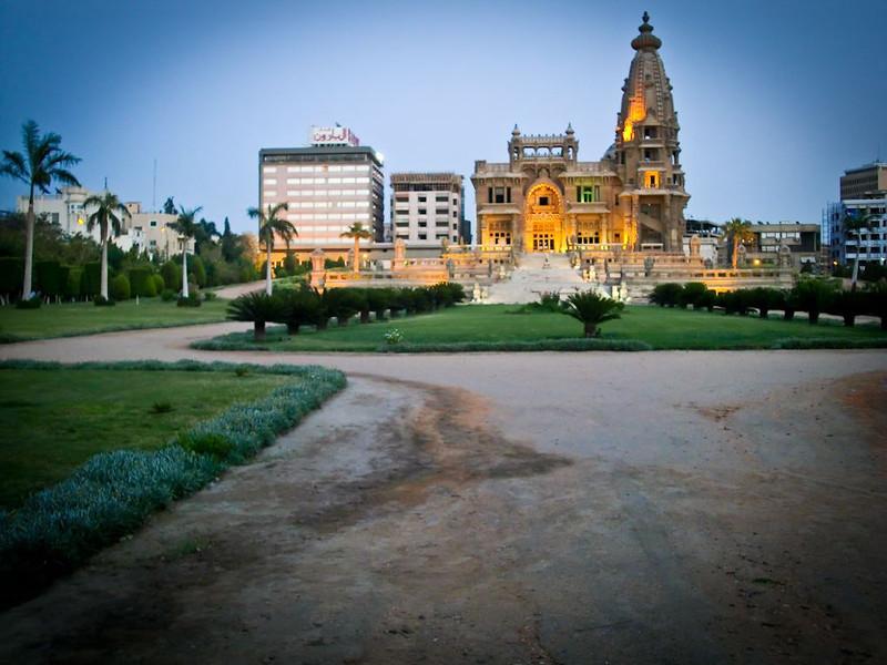 Baron Empain Palace in Cairo.