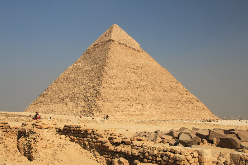 guard - Pyramids at Giza