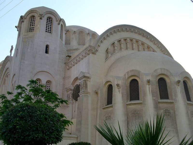 The church in Zamalek, Cairo.