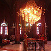 Inside of a church in Coptic Cairo.