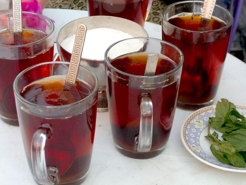 Tea in Cairo.